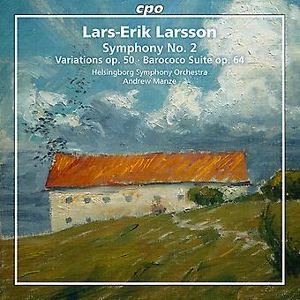 Larsson / Orchestre symphonique de Helsingborg - œuvres orchestrales 2 [SACD] USA import