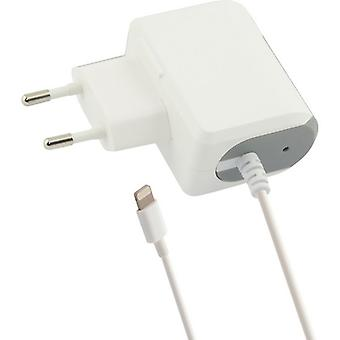 Chargeur mural Lightning 1a iPhone Blanc