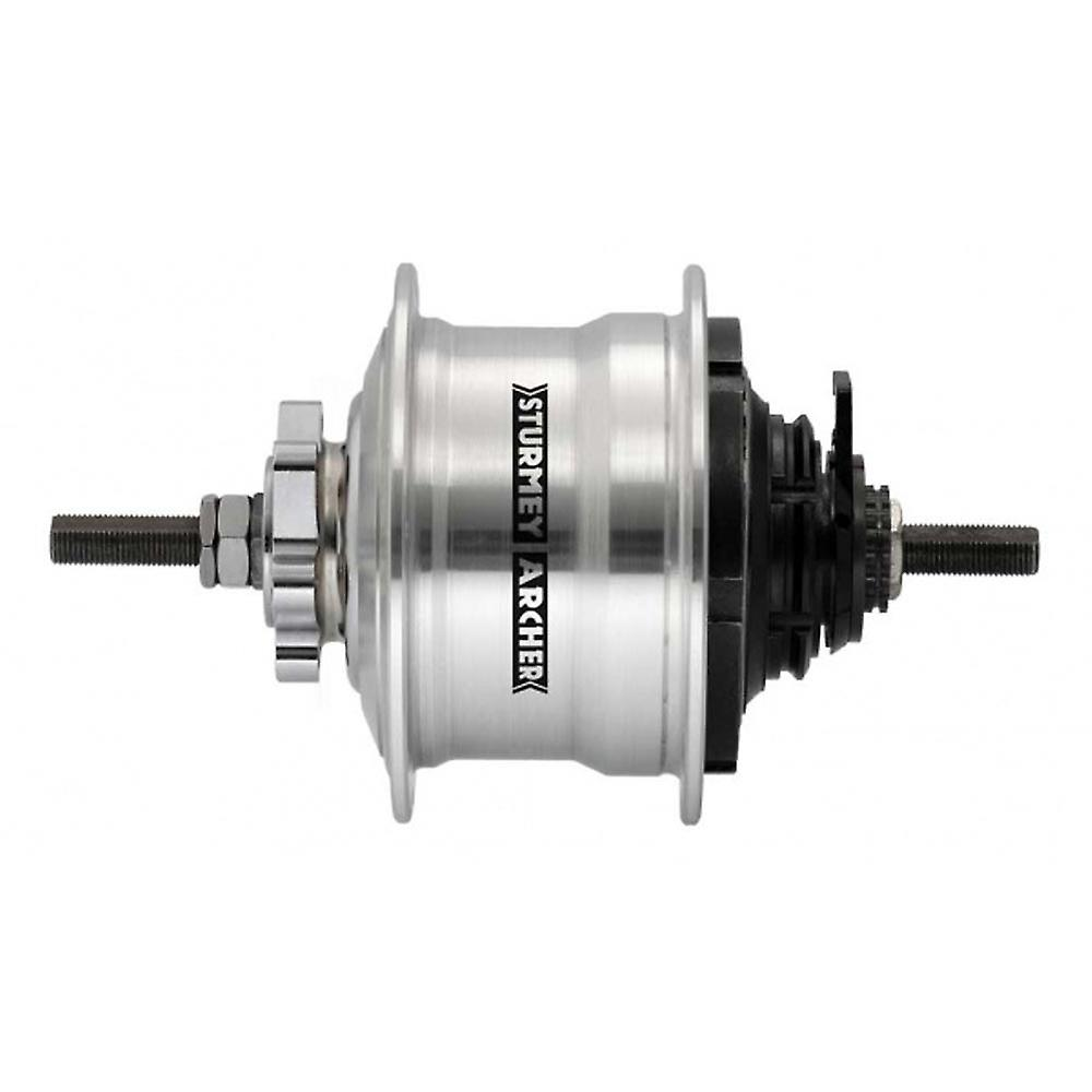 Sturmey Archer RX-rk5 5 Speed Disc Hub 36h argent