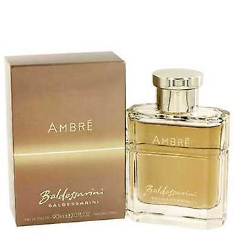 Baldessarini Ambre By Hugo Boss Eau De Toilette Spray 3 Oz (men) V728-432808