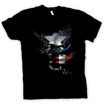 Kids T-shirt - Captain America - Ripped Effect