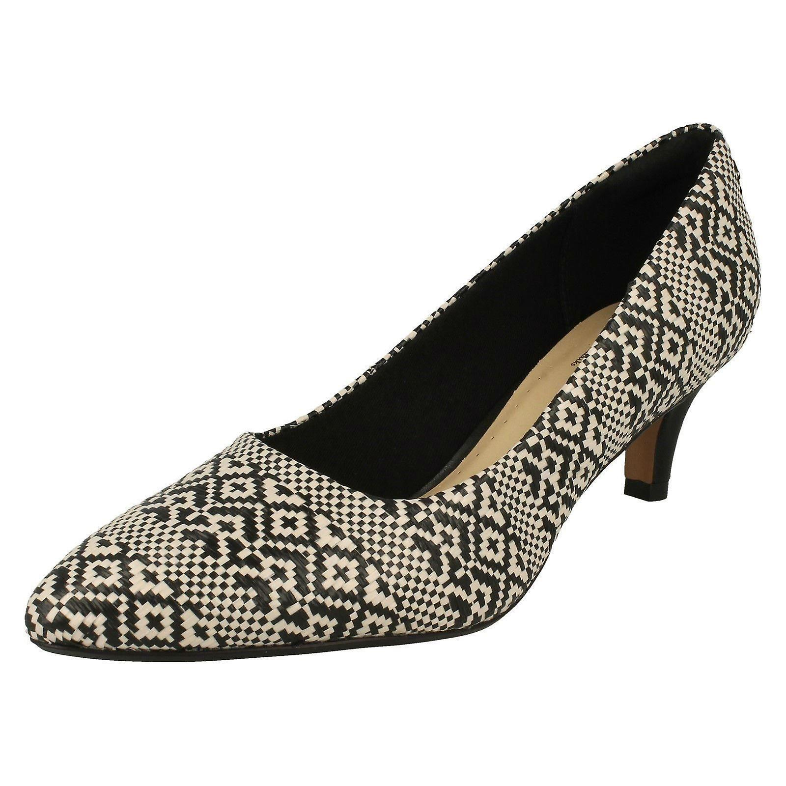 Ladies Clarks Pointed Toe Court chaussures Linvale Jerica