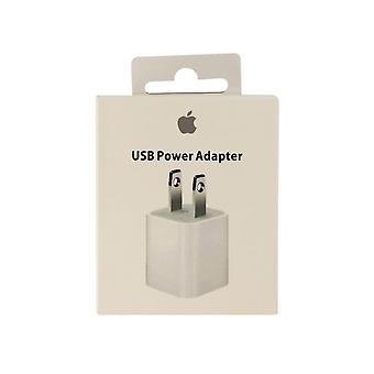 Original Apple 5W USB Power Adaptor for iPhone 8/7/6 iPad Mini 2,3,4 (MD810LL/A)