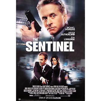 Sentinel (yksipuolinen video) alkuperäinen video/DVD-mainos juliste