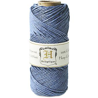 Hemp Cord Spool 20# 205 Feet Pkg Dusty Blue Hs20 Db