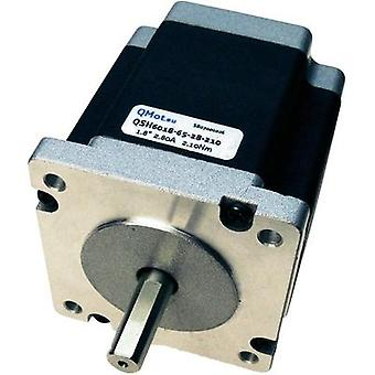 Trinamic QSH6018-45-28-110 - 60 x 60mm Stepper Motor, 1.8 Degree, 1.10Nm, 0 - 84Vdc, 2.8A
