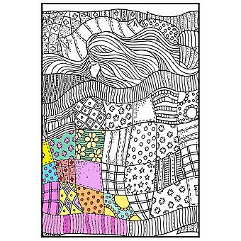 Joy Of Coloring Adult Coloring Poster 24