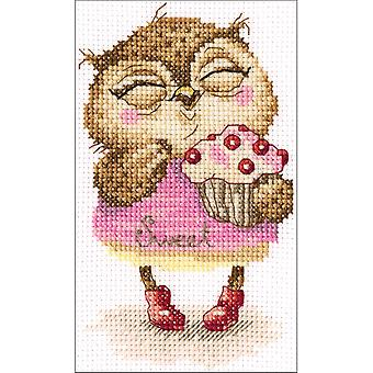 Sweet-Tooth Counted Cross Stitch Kit-4