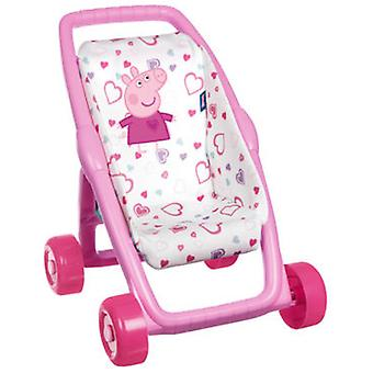 Smoby My Peppa Pig First Pushchair (Toys , Dolls And Accesories , Baby Dolls , Strollers)