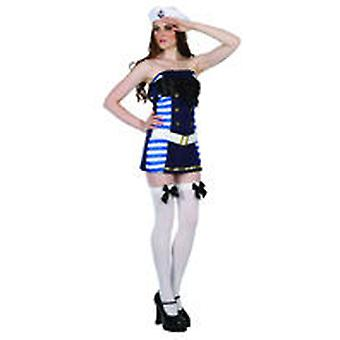 Guirca Sailor Girl Adult Costume (Kostuums)
