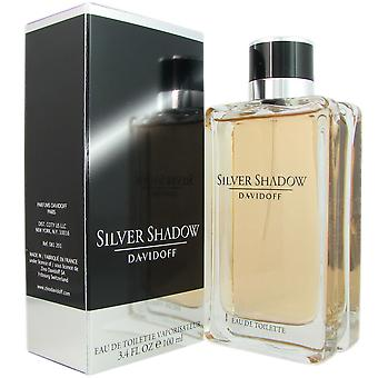 Silver Shadow for Men by Davidoff 3.4 oz EDT Spray