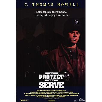 To Protect and Serve Movie Poster Print (27 x 40)