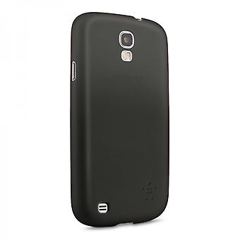 Belkin Micra Glam mat case cover til Samsung Galaxy S4 sort