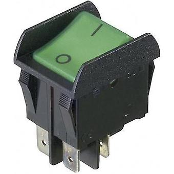Toggle switch 250 Vac 16 A 2 x Off/On interBär 3652-851.22 latch 1 pc(s)