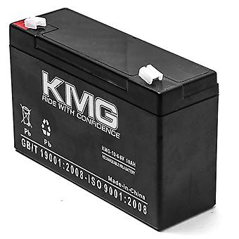 KMG® 6V 10Ah Replacement Battery for TELEDYNE BIG BEAM 2SC6G8P2 2SC6G20 2SC6S16 2SC6S8