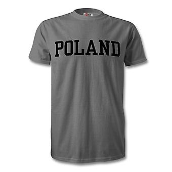 Poland Country Kids T-Shirt