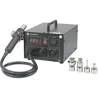 Hot air soldering digital 550 W TOOLCRAFT AT850D +100 up to +480 °C