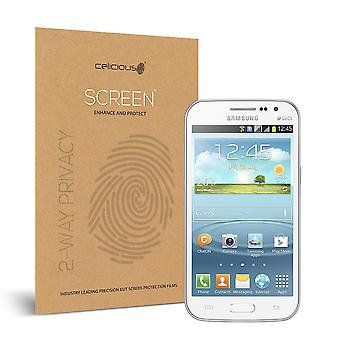 Celicious Privacy Samsung Galaxy Win I8550 2-Way Visual Black Out Screen Protector