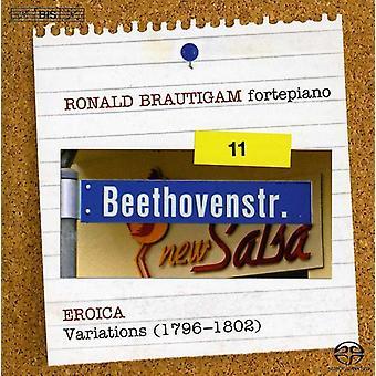 L.V. Beethoven - Beethoven: Komplett verk för Solo Piano, Vol. 11 - Eroica-variationerna (1796-1802) [SACD] USA import