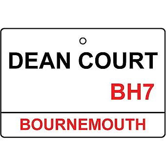 Bournemouth / Dean Court Street Sign Car Air Freshener