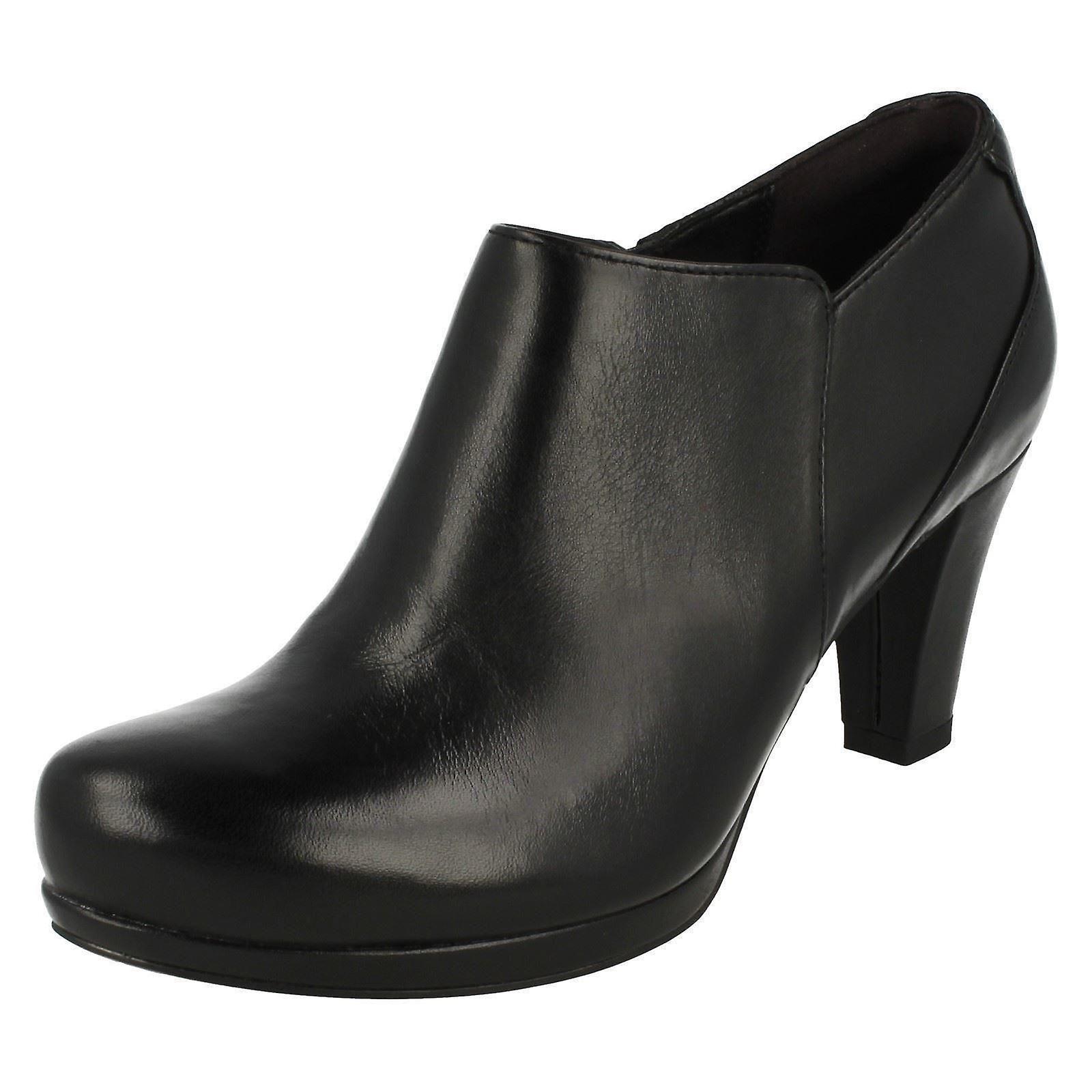 Clarks Ladies Smart scarpe col tacco coro vero