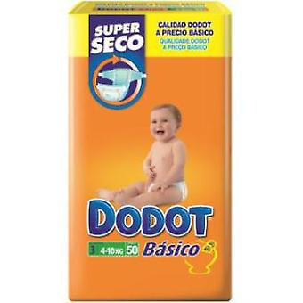 Dodot Basic Diapers Size 3 (4-10 Kg) 50 Units (Jeugd , Nappies and Changers , Nappies)