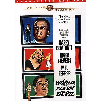 World the Flesh & the Devil [DVD] USA import