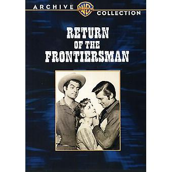 Return of the Frontiersman [DVD] USA import