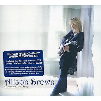 Alison Brown - selskab du holde [CD] USA import