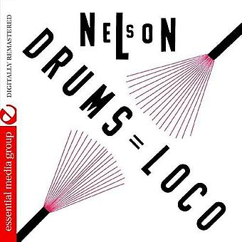 Nelson Padron - Nelson: Drums Loco [CD] USA import