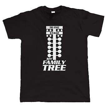 Vectorbomb, il mio albero genealogico Drag Racing TShirt (S alla 5XL)