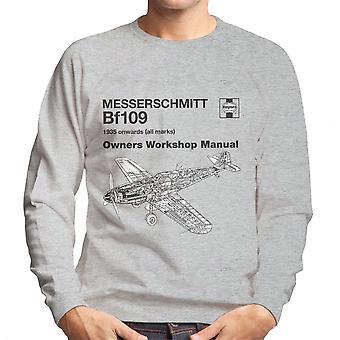 Haynes eiere Workshop manuell Messerschmitt Bf109 menn Sweatshirt