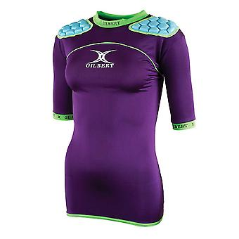 GILBERT womens atomic zenon WRX body armour [purple]