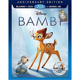 Bambi: The Walt Disney Signature Collection [Blu-ray] USA import