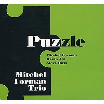 Mitchel Forman Trio - Puzzle [CD] USA import
