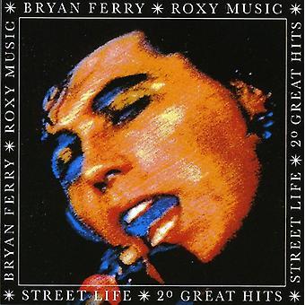 Roxy Music - vida de calle: 20 grandes éxitos [CD] USA importar