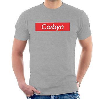 Jeremy Corbyn Supreme Logo Men's T-Shirt