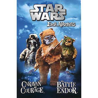 O Poster do filme Ewok Adventure (11 x 17)
