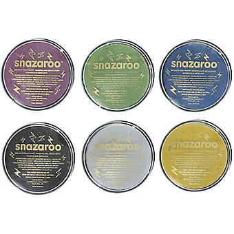 Snazaroo Professional Water Based Metallic Face & Body Paint Compact 18ml