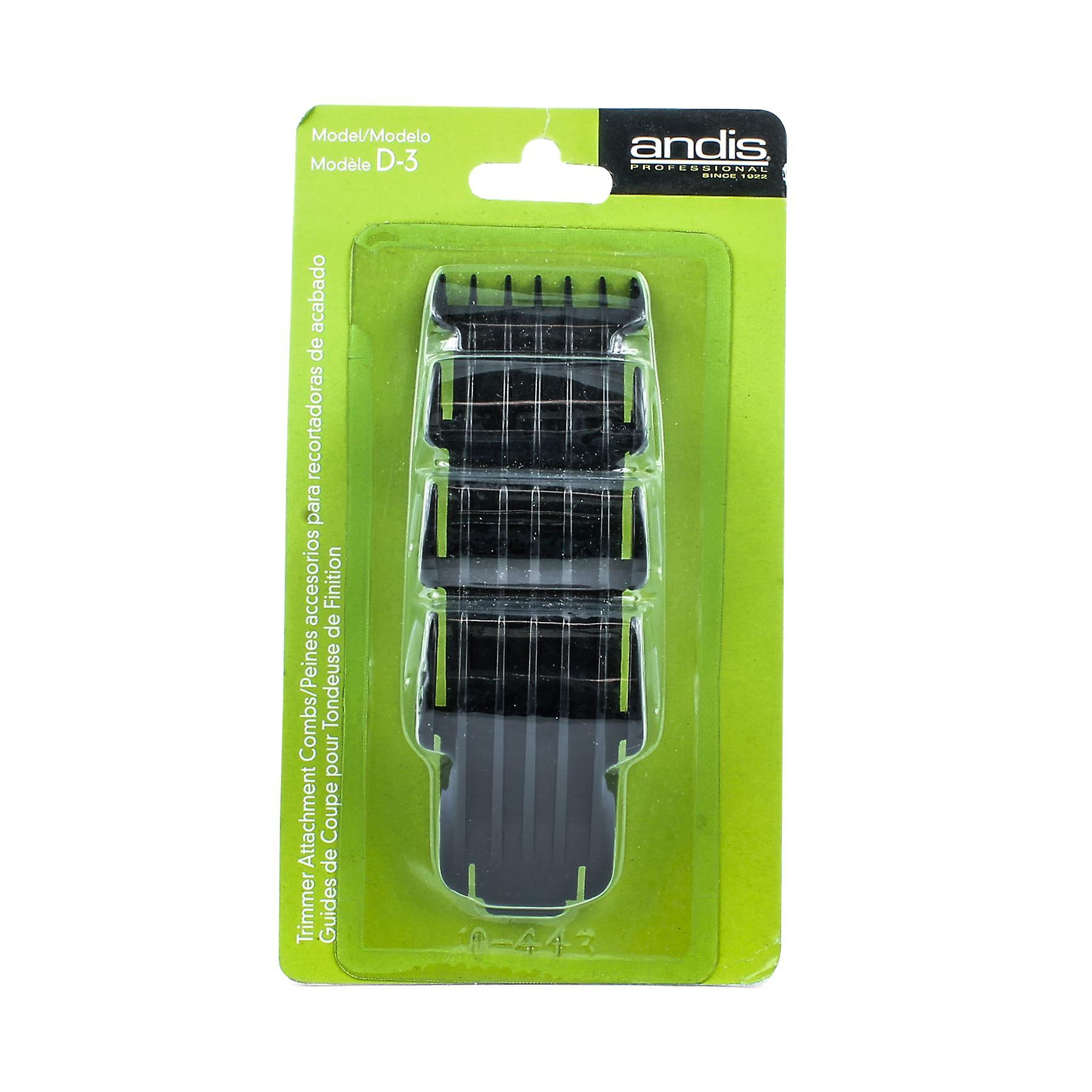 Andis 32190 4-Piece T-Edjer II Attachment Combs
