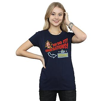 Elf Women's World's Best Coffee T-Shirt
