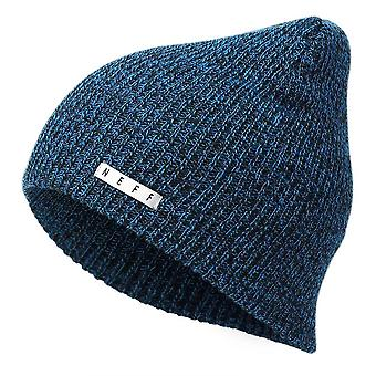 Neff Daily Heather Beanie - Black / Blue