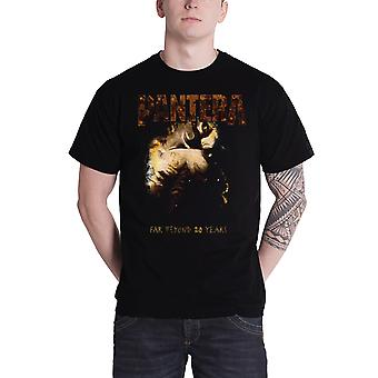 Pantera T Shirt mens far beyond 20 years Original album Cover new Official Black
