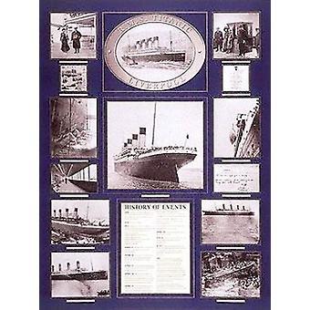 Stampa del manifesto del Titanic (24 x 32)