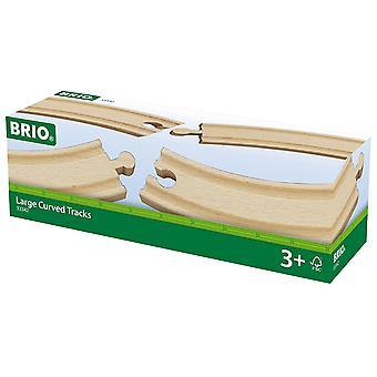 Brio World Railway Track - Large Curved