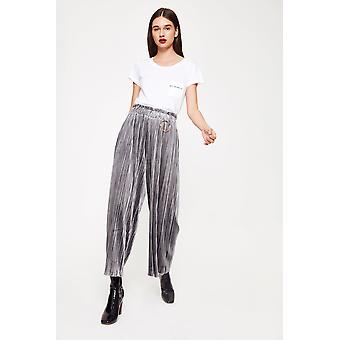 Endless Rose Velvet Pleated Trousers