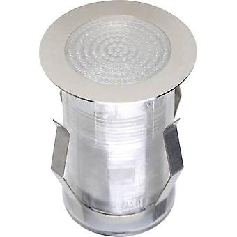 LED outdoor recessed light 1.5 W Cold white JEDI Lighting Tamana LT31210 Stainless steel