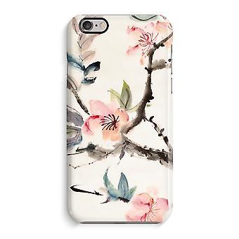 iPhone 6 / 6S pełną głowiczki (błyszcząca) - Japenese kwiaty
