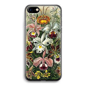 iPhone 7 transparentes Gehäuse (Soft) - Haeckel Orchidae