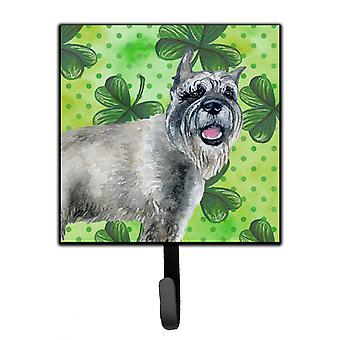 Carolines Treasures  BB9836SH4 Schnauzer St Patrick's Leash or Key Holder